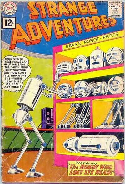 """The Robot Who Lost Its Head!"""