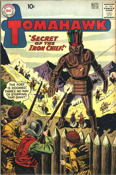 """Secret of the Iron Chief!"""
