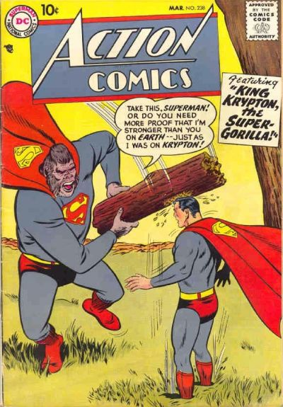 """King Krypton, the Super-Gorilla!"""