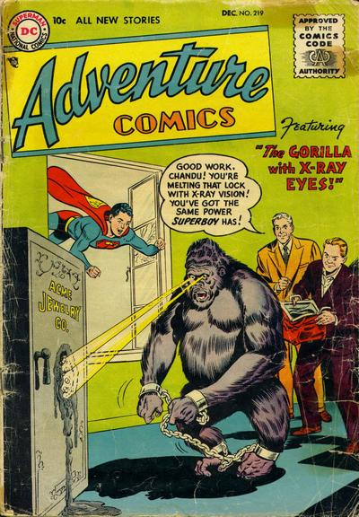 """The Gorilla With X-Ray Eyes!"""