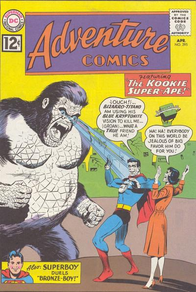 """The Kookie Super-Ape!"""