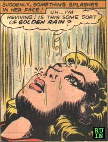 Mysterious Golden Showers.