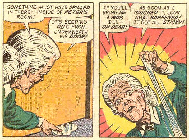 Aunt May's Unpleasant Surprise.