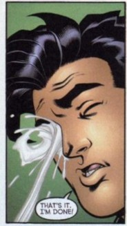 Superboy Gets a Facial.