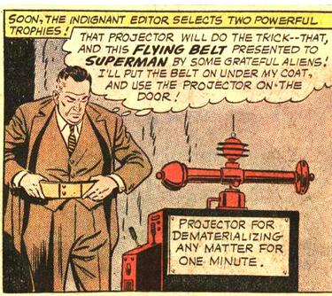 """Projector For Dematerializing Any Matter For One Minute."""