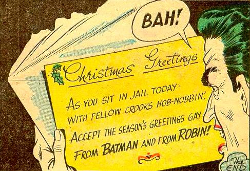 Gay Greetings From Batman and Robin.