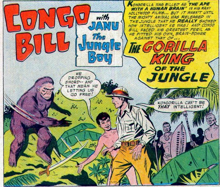 Congo Bill Isn't So Smart Either.