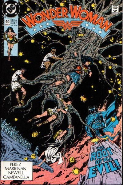 Look! Some Black Guy on a Tree! (Oh Yeah, and Wonder Woman is Tied Up).