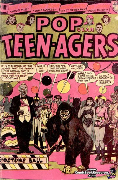 """Popular Teen-Agers."""