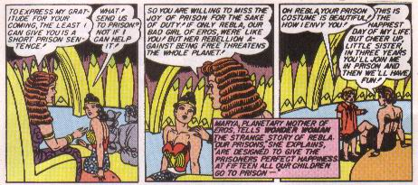Wonder Woman Goes to Prison.