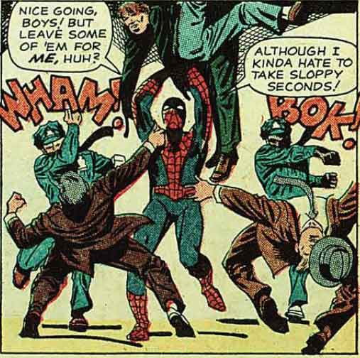 Spidey Hates Sloppy Seconds.