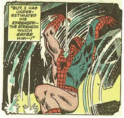 Spider-Man Forgets His Pants.