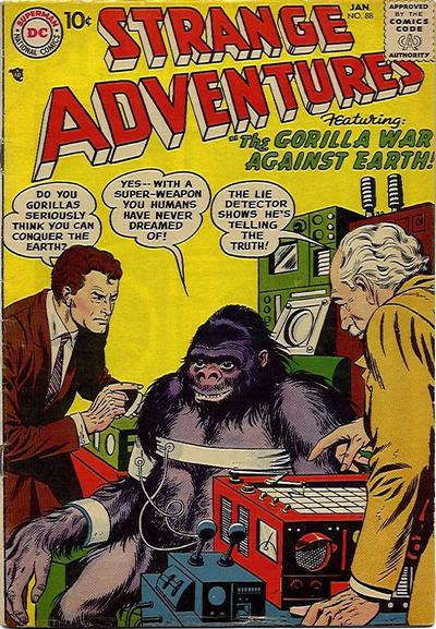 """The Gorilla War Against Earth!"""