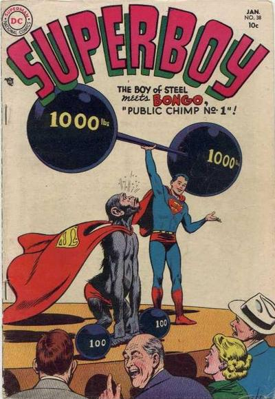 Just Because a Chimp is Wearing a Cape Does Not Make it Super.