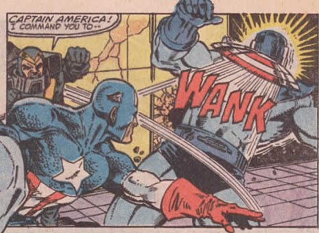 """Captain America!  I Command You to Wank!"""