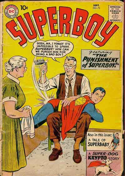 """The Punishment of Superboy!"""