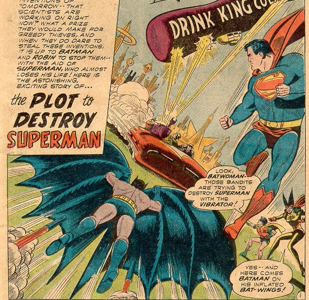 """The Plot to Destroy Superman!"""