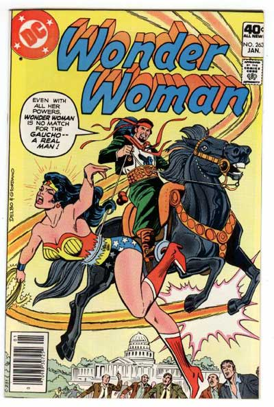Wonder Woman vs. A Real Man.  As Opposed to... Like... A Fake One.