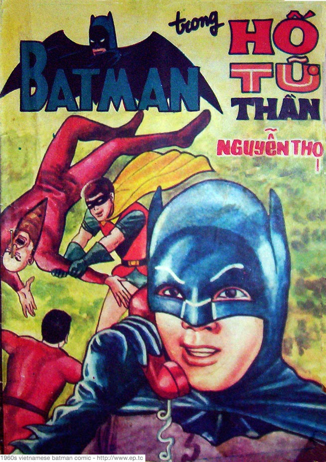 Batman, Hero of the Vietnamese.