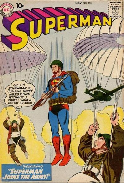 """Superman Joins the Army!"""