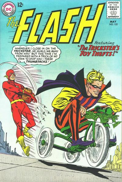 Flash is Reduce to Tossing Thumbtacks at a Guy on a Tricycle.