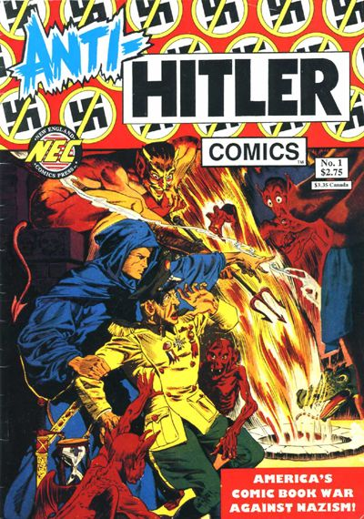 Anti-Hitler Comics (As Opposed to Pro-Hitler).