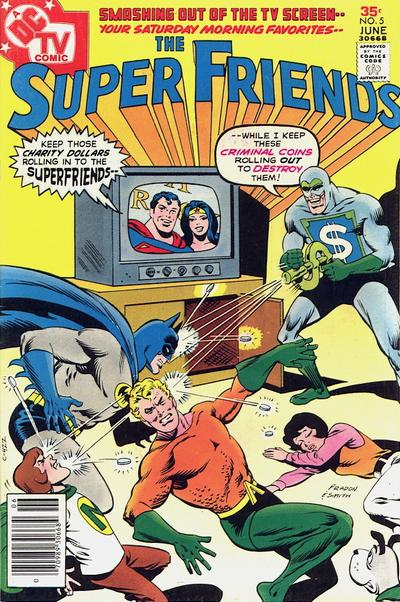 The Superfriends Get Defeated by Spare Change.