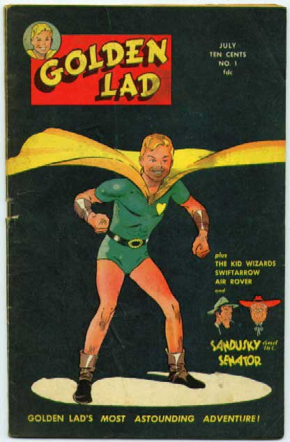 """Golden Lad's Most Astonishing Adventure!"""