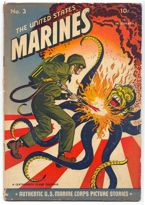 US Marine vs. Japanese Octopus.