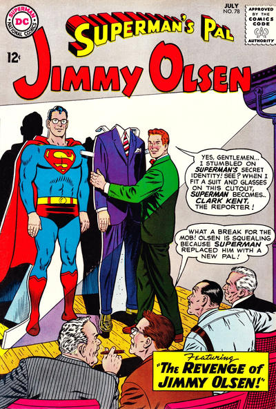 """The Revenge of Jimmy Olsen!"""