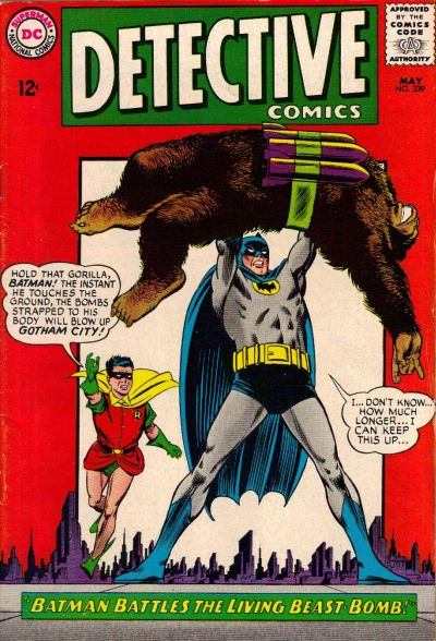 """Batman Battles the Living Beast-Bomb!"""