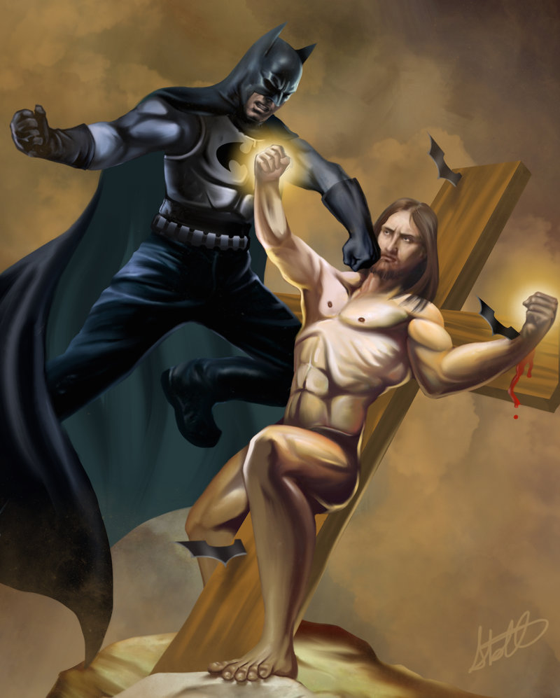Batman v Jesus: Dawn of Blasphemy