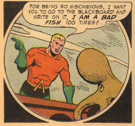Aquaman is a Bad Ichthyologist.